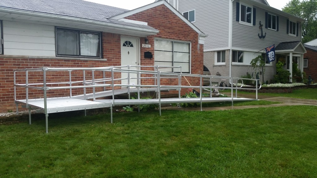 wheelchair ramp installation macomb county