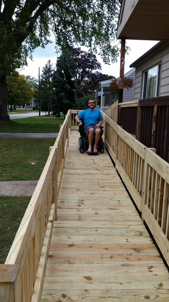 Macomb county wheelchair ramp installers barrier free plus for Handicap accessible home builders